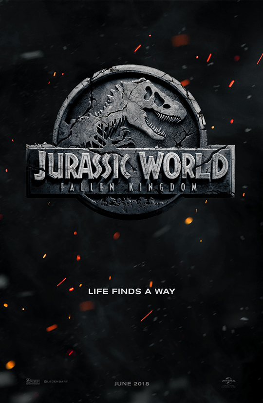 Jurassic World: Fallen Kingdom Cover Art